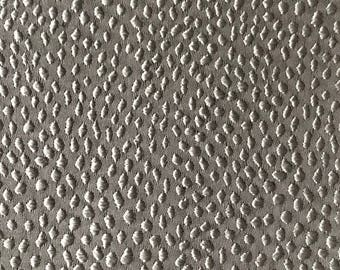 Dark Silver Moon Jacquard Pillow Cover