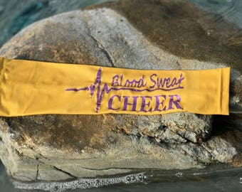 Blood Sweat Cheer Arm Sleeve