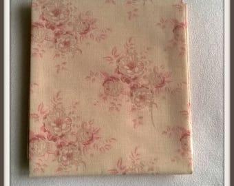Coupon of fabric Tilda Mina pink