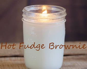 Hot Fudge Brownie