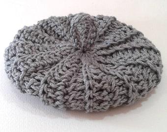 Cotton Tawashi satin grey 10cms