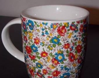 Mug floral vintage spring