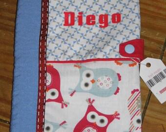 Custom book cover version boy owls