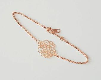 Bracelet chains gilt