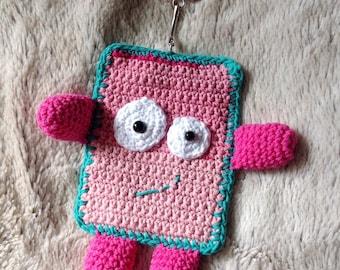 Keychain Titounette blanket handmade crochet