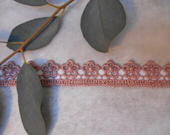 Adhesive - Taupe - cord fabric lace Ribbon