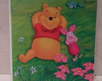 """""""Pooh and piglet"""" switch sticker"""