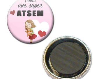 Magnet Badge 38 mm - for a great pre-school kindergarten kids gift