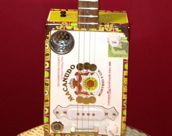 Handmade Electric Cigar Box Guitar