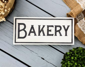 7x16 Bakery Sign - Bakery Decor - Kitchen Sign - Market Sign - Kitchen Decor - Farmhouse Decor - Fixerupper - Rustic Kitchen Sign - Bakery