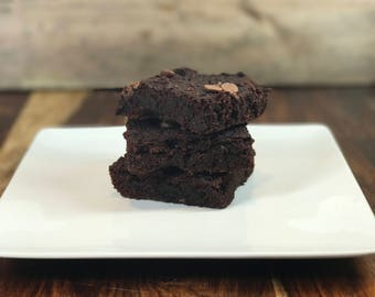 Paleo Double Chocolate Brownies