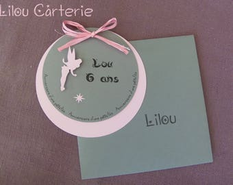 Invitations birthday girl fairy theme