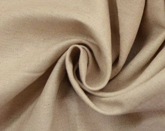 Plain linen blended fabric