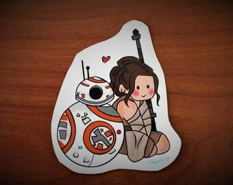 Rey and BB8!!!