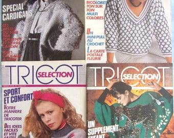 4 catalogs knitting - KNITTING SELECTION No. 123-126-131-132