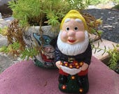 Little Gnome with Basket