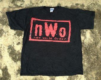 Vintage New World Order NWO T-Shirt size L