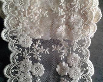 Pretty white lace
