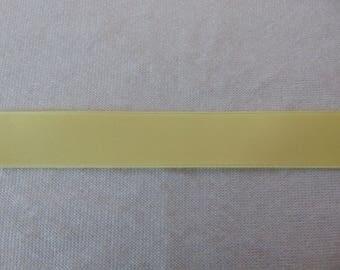 Satin ribbon, yellow banana (S-0007)
