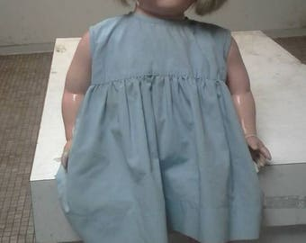 """2 Extremely-Rare Averill Phonograph Hand-Crank Talking dolls,C1920,26""""L,VGC,Cute,Authentic"""