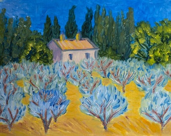 House by the Olive Tree