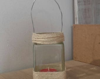 Small glass hanging Lantern