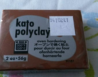 Brown 56gr Kato polymer clay