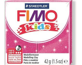 Polymer clay Kids 42 g - pink Paillete N 262 - Ref 68030262 - while quantities last!