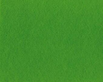 Felt 2 mm cut green grass - 30 x 30 cm - Ref FE3946