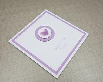 "Invitation card ""Your fingerprints"""