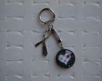Special Valentine's day Keychain for men