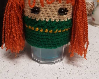 brave merida coffee cup cozy