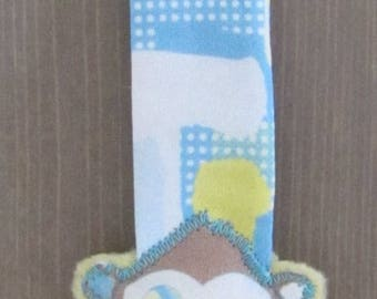 Pacifier Joze * Clip blue Chimp