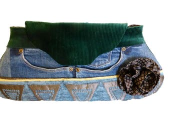 Evening bag vintage recycled