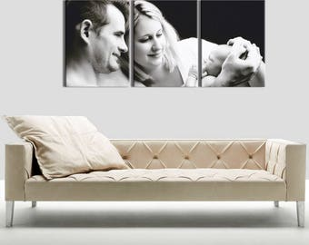 Canvas triptych evolution 3 x(55x80) frame 3D (28 mm)