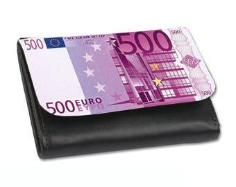 Wallet printed Medium 500 euros