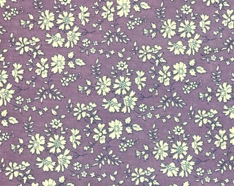 Liberty tana lawn Capel violet by 50cmxlaize fabric