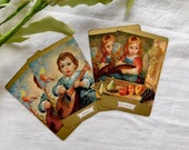 Vintage Duratone Playing Cards - Set Of 4