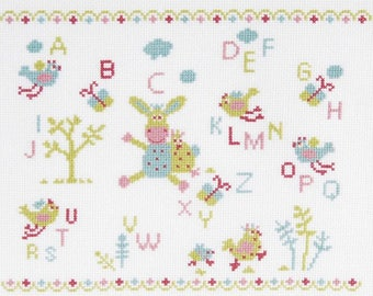 Counted cross stitch Kit, ABC campaign