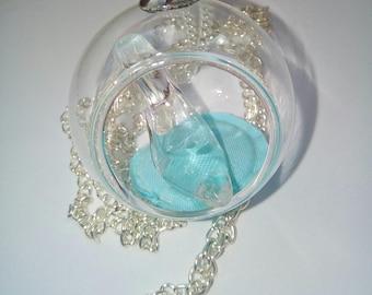 Cinderella Globe necklace