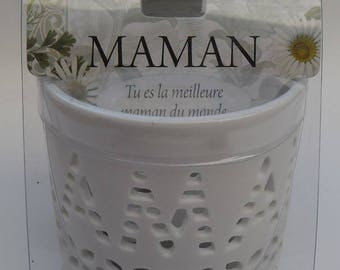 """CANDLE and TEALIGHT LUMINESCENCE Collection """"MOM"""""""