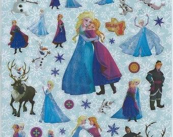 Frozen snow Queen stickers for computer Board 20 cm x 15.5 cm