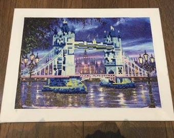 5D Picture on Canvass - London Bridge