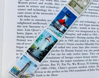 Lighthouse Postage Stamp Bookmark 4