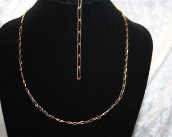 Necklace mesh bracelet