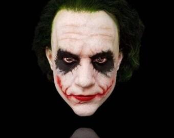 Joker, heath ledger, batman, silicone mask, mask, ultra real mask, masks, Halloween, collectors piece, the joker