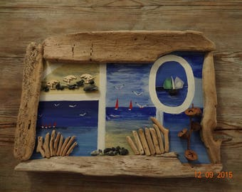 Driftwood table scrapbooking