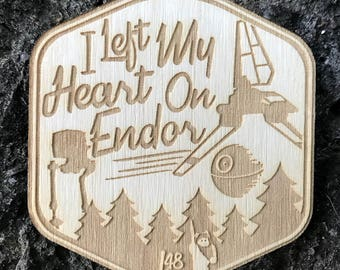 Wood Badges - Custom Personalized