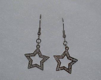 STAR STAINLESS STEEL EARRING