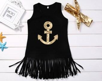 Anchor Boho Dress